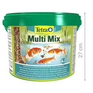 comida barata para peces