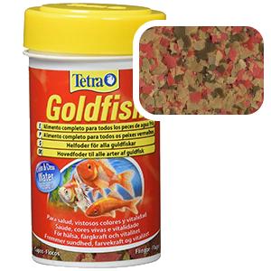comida en escamas para goldfish