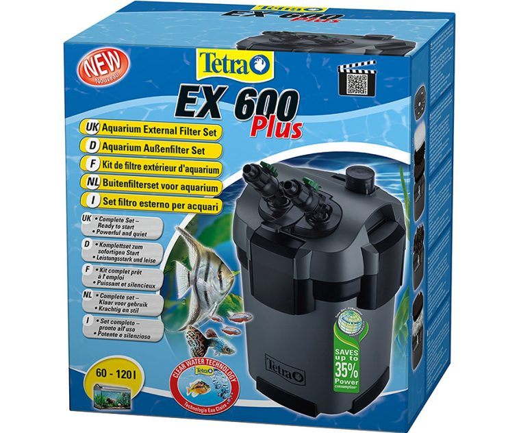 El mejor filtro para acuarios exterior de 2020 |Tetra EX 600 plus