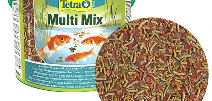 mejor comida de peces variados