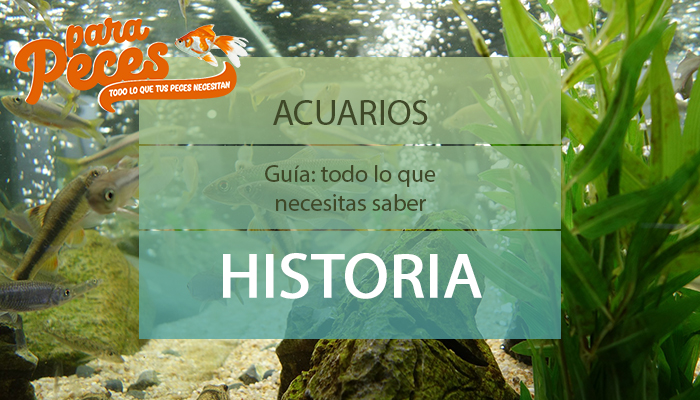 guia de acuarios historia